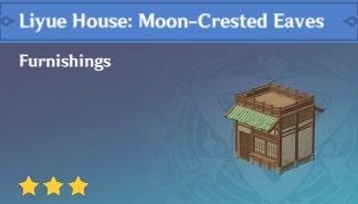 Liyue House: Moon-Crested Eaves