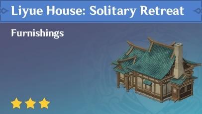 Liyue House Solitary Retreat