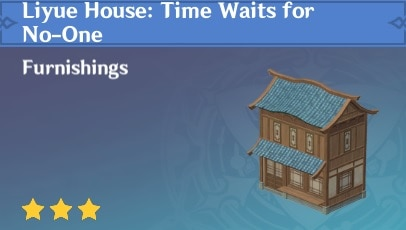 Liyue House: Time Waits for No-One
