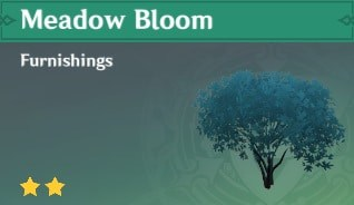 Furnishing Meadow Bloom