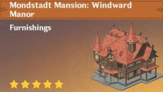 Furnishing Mondstadt Mansion Windward Manor