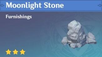 Furnishing Moonlight Stone