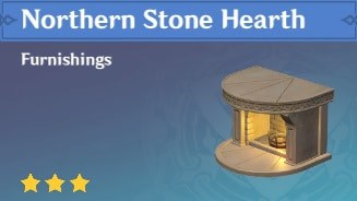 Furnishing Northern Stone Hearth