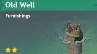 Furnishing Old Well
