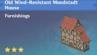 Old Wind-Resistant Mondstadt House