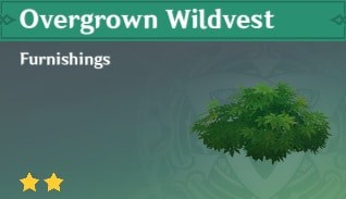 Overgrown Wildvest