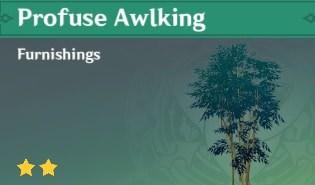 Profuse Awlking