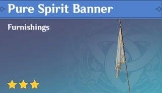 Furnishing Pure Spirit Banner