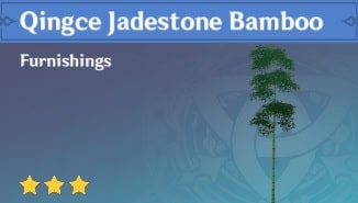 Furnishing Qingce Jadestone Bamboo