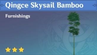 Furnishing Qingce Skysail Bamboo