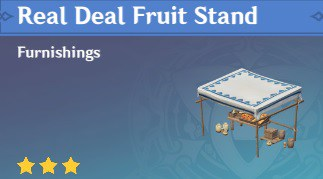 Real Deal Fruit Stand