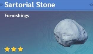 Sartorial Stone