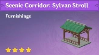 Furnishing Scenic Corridor Sylvan Stroll