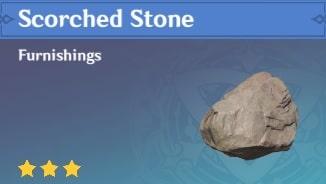 Furnishing Scorched Stone