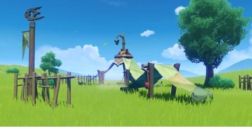 Furnishing Set Adventurer Camp