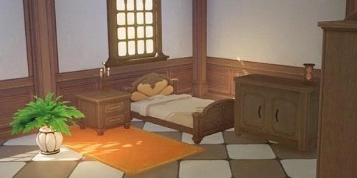 Fully Furnished Mondstadt Bedroom Furnishing Set