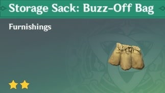 Storage Sack Buzz-Off Bag