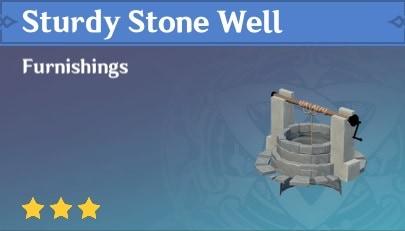 Sturdy Stone Well