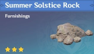 Summer Solstice Rock