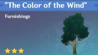 Furnishing The Color Of The Wind