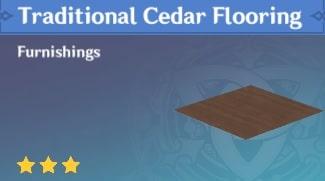 Traditional Cedar Flooring