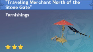 Furnishing Traveling Merchant North of the Stone Gate