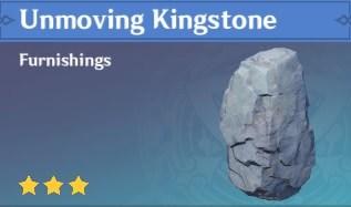 Unmoving Kingstone