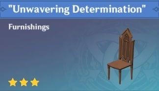 Unwavering Determination