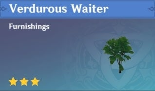 Verdurous Waiter