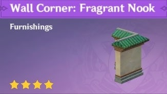 Wall Corner: Fragrant Nook