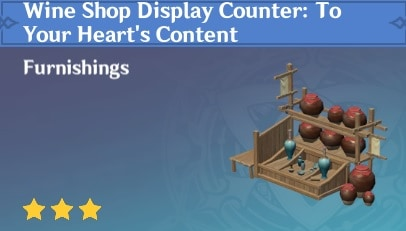 Furnishing Wine Shop Display Counter To Your Heart's Content