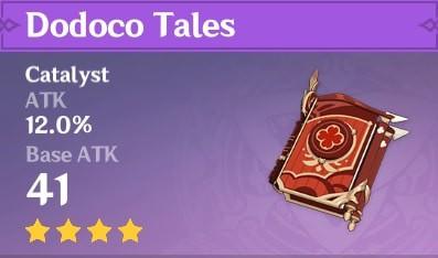 4 Star Catalyst Dodoco Tales