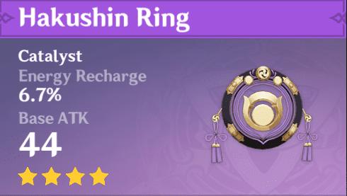 4 Star Catalyst Hakushin Ring