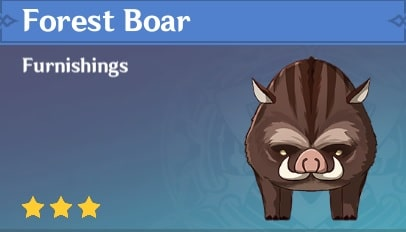Forest Boar