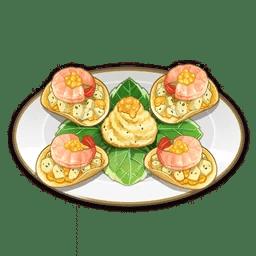 Crispy Potato Shrimp Platter