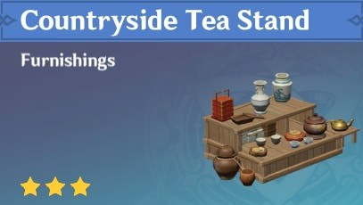 Countryside Tea Stand