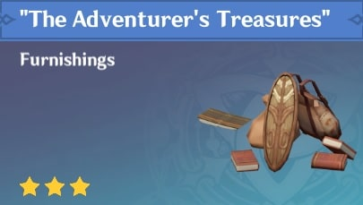The Adventurers Treasures