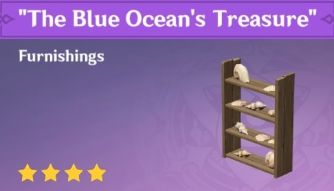 Furnishing The Blue Oceans Treasure