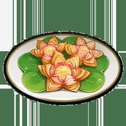 Lotus Flower Crisp
