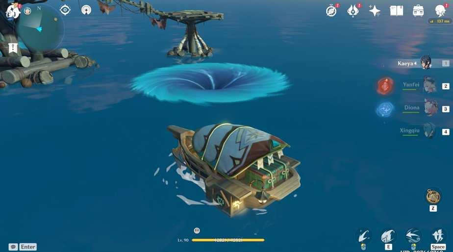 Main Cannon, Make Ready... Fire Whirpool Is Dangerous