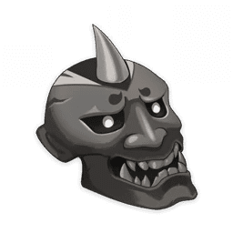 Material Mask Of The Tigers Bite