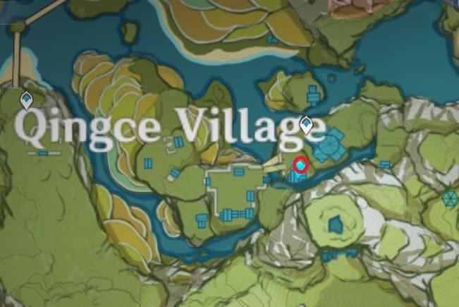 Ms Bai Location In Qingce Village
