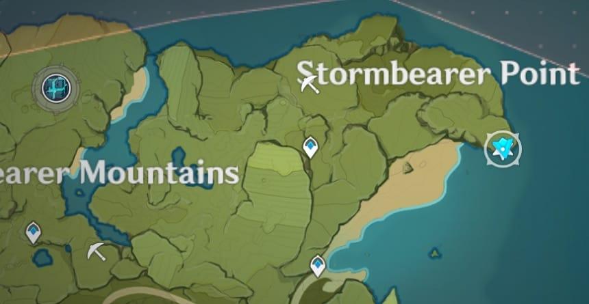 Vind Location In Stormbearer Point