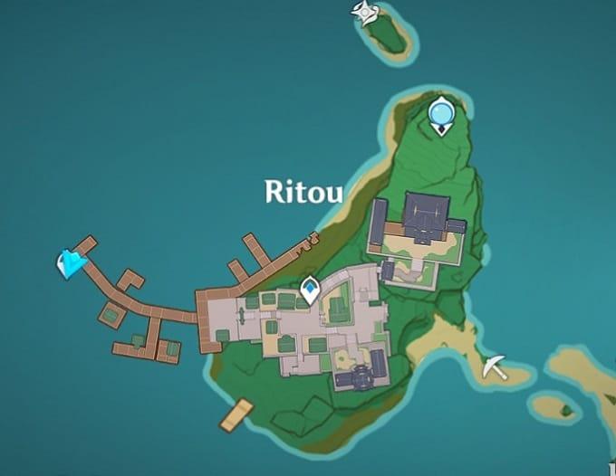 1 Ritou, Narukami Island Map