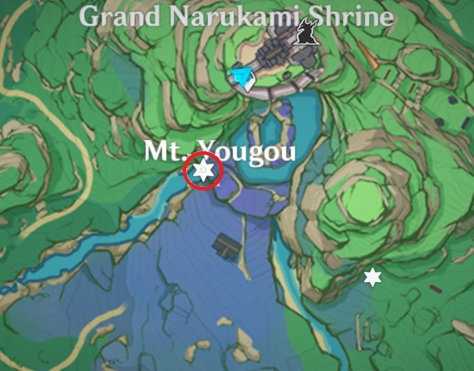17 Electroculus Above The Rock In The Waterfall Map