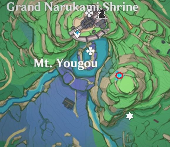 24 Electroculus Southeast Of Grand Narukami Island Map