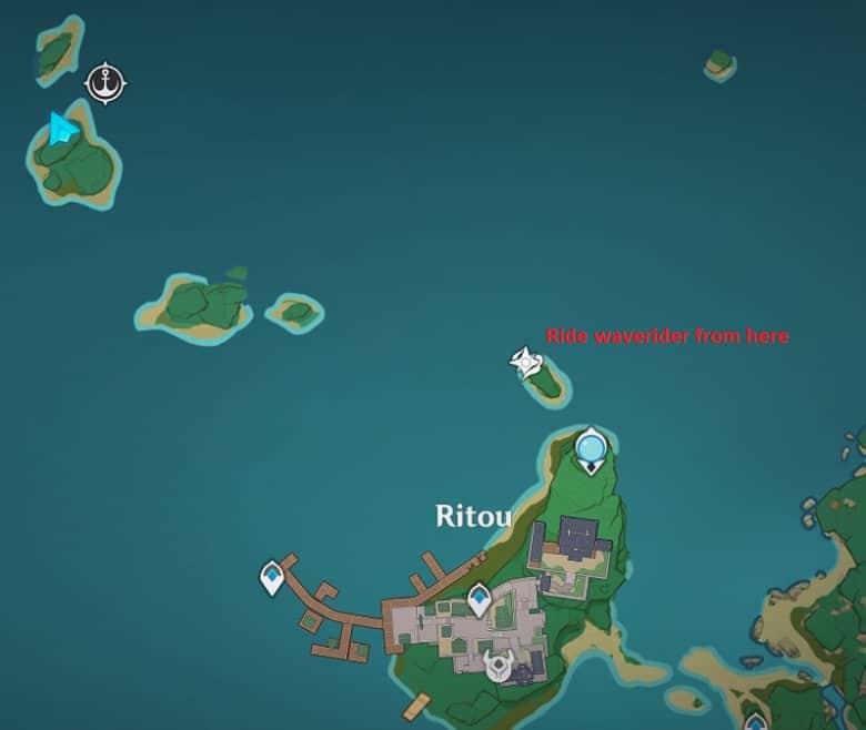 29 Electroculus Small Island Near Ritou Map