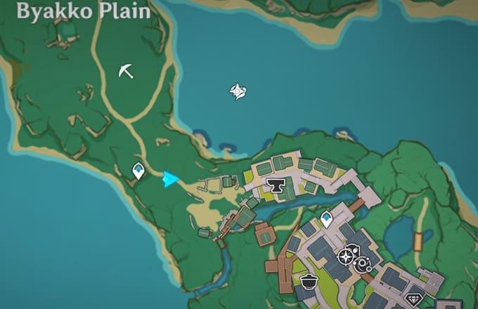 3 Suburbs, Inazuma City Map