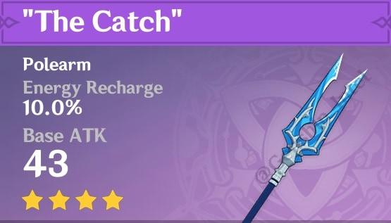 4 Star Polearm The Catch