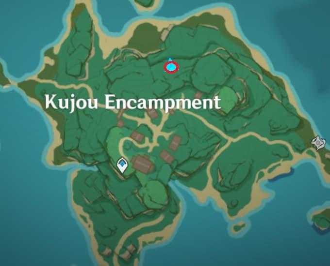 42 Electroculus Watchtower In Kujou Encampment Map